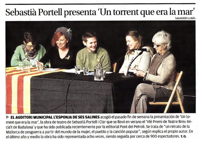 Diario de Mallorca, 31/12/2014