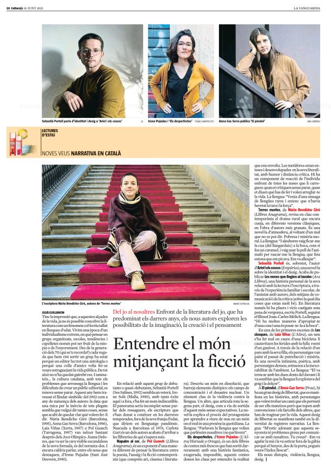 La Vanguardia (Català) - Culturas
